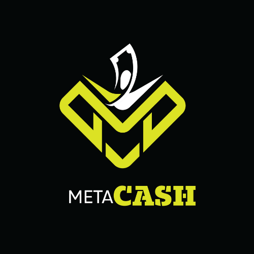 MetaCASH Logo Dark