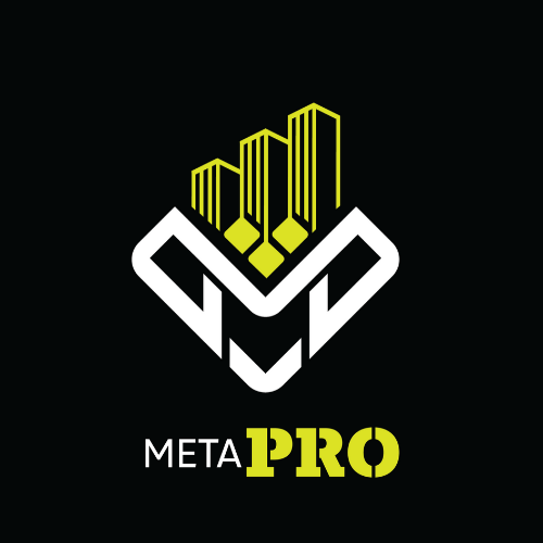 MetaPRO Logo Dark